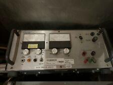Motorola Dc Power Supply R 1011b Dual Analog Meter