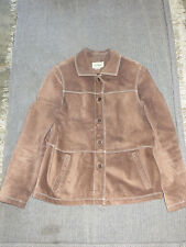 LEATHER LL BEAN JACKET WOMENS