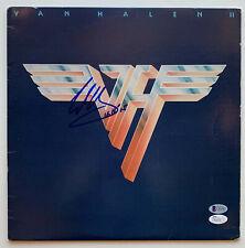 Eddie Van Halen Signed autographed Vinyl Record Album Beckett BAS + JSA COA