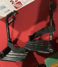 Invacare Wheelchair Hemi Footrests with Composite Footplates And Heel Loops