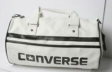 Converse Small Duffel Sport Bag (White)