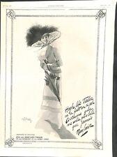 Publicité Pub High-Life-Tailor rue Auber Paris Assurances Cie  ILLUSTRATION 1911