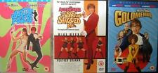 AUSTIN POWERS 1,2,3 Mike Myers Comedy James Bond Spy Spoof DVD Set *EXC*