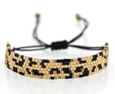 Cheeta MIYUKI Bracelet Seed Bead Wrap Japanese Jewelry