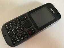 Nokia 100 - Phantom Black (Unlocked) Basic button mobile phone