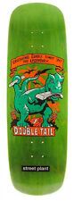 "Street Plant Double Tail Green 9,5"" Skateboard Deck"