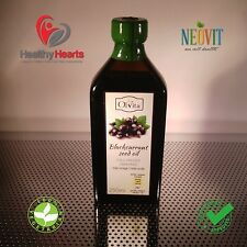 Blackcurrant seed oil, cold pressed, unrefined  - 250 ML