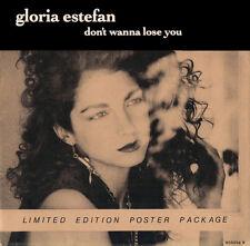 "Gloria Estefan Don't Wanna Lose You 7"" Vinyl UK Epic 1989 Limited Edition"