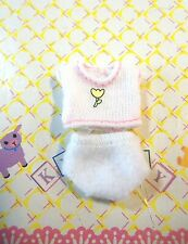 Kelly Krissy Small Polymer Doll Baby Clothes *Krissy Layette White Top & Panty*