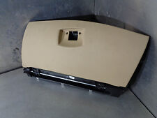 BMW E60 E61 04-10 530D LCI 530d dash glove box  in tan / sand trim 7063516