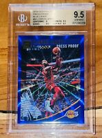 🔥2018 LeBron James DONRUSS PRESS PROOF BLUE LASER REFRACTOR #94 /49 BGS 9.5 PSA