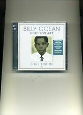 BILLY OCEAN - HERE YOU ARE + THE BEST OF - 2 CDS - NEW!!