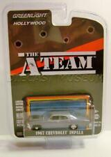 1967 '67 Chevy Impala The A Team Hollywood R23 Greenlight Diecast 2019