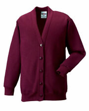 Patternless Long Sleeve V Neck Jumpers & Cardigans for Women