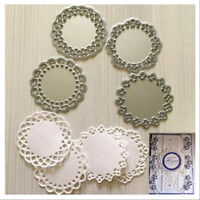 4pcs Metal Cutting Dies lace flower For Card Making Decorative Embossing
