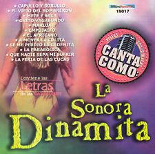 NEW - Pistas: Canta Como La Sonora Dinamita by Grupo Mexico Lindo