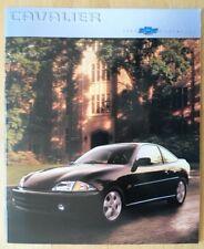 CHEVROLET Cavalier 2000 range glossy deluxe USA Mkt brochure catalog - LS Z24
