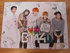 B1A4 - 4TH MINI ALBUM [ORIGINAL POSTER] *NEW* K-POP