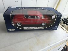 Motor Max Chrysler 1955 C300 1:18 Scale Die Cast Collection NRFB