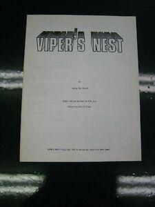 Viper's Nest Champions RPG Hero Games 1982