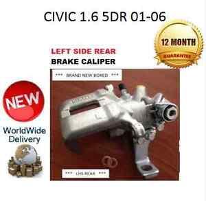 HONDA CIVIC REAR LEFT BRAKE CALIPER 1.6 2001-2006 NEW  43019S6MA01