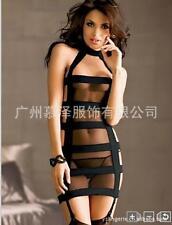 Sexy Backless Straps Corss Slim Nightclub Cocktail Bodycon Midi Dress  M 6S-20