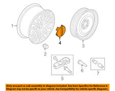 Lincoln FORD OEM 13-16 MKZ Wheel-Center Cap Hub Cover DP5Z1130B