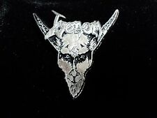 VENOM  BLACK METAL  PIN  BADGE