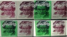 Lot of 8 Beethoven Quartets LP's on Concert Hall Society - Pascal String Quartet