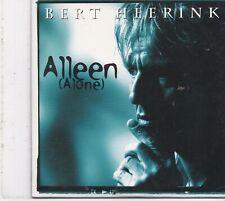 Bert Heerink-Alleen cd single