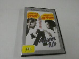 Adam's Rib - Katharine Hepburn, Spencer Tracy (DVD, Region 4) HO5