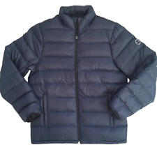 Abercrombie and Fitch Lightweight Down Navy Puffer Jacket - Medium