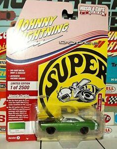 JOHNNY LIGHTNING 1:64 .. MUSCLE CARS U.S.A. .. 1969-1/2 DODGE CORONET SUPER BEE