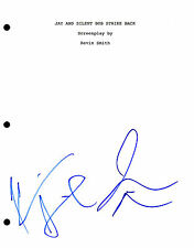 Jay and Silent Bob *KEVIN SMITH & JASON MEWES* Signed Full Movie Script AD1 COA