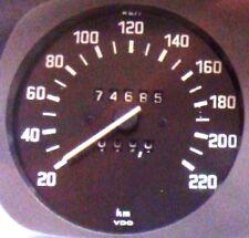 Tachimetro contachilometri BMW serie E3 - modelli 2800 3.0S 3.0SI 3.3L 3.3Li