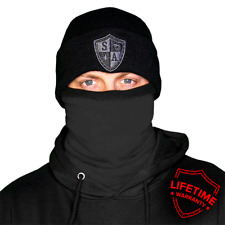 Thermal Fleece Lined Salt Armour Face Shield / Mask Tactical Black