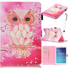 For Samsung Galaxy Tab A A6 10.1 SM-T580 T585 Smart PU Leather Case Cover +Film