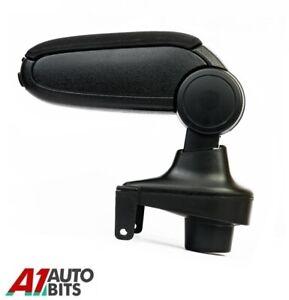 For Renault Clio 4 MK4 IV Car Armrest Arm Rest + Assembly Set Black Textile