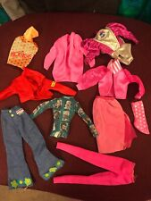 Barbie Doll Clothes Lot 80s Fashion Collector Rare Pink Rockers Day To Night
