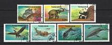 Tanzanie 1994 animaux sauvages (130) Yvert n° 1654 à 1660 oblitéré used