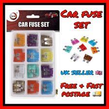 36 Pc Mini Car Fuse Auto Blade Mini Fuse Set 3 4 5 7.5 10 15 20 25 30 Amp Fuses