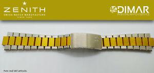 Replacement Bracelet Original Zenith, Steel Bicolor REF.001