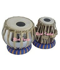 TABLA DRUMS SET~PROFESSIONAL 2.5 KG BRASS BAYAN~SHEESHAM WOOD DAYAN~PRC EHS