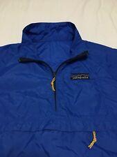 VTG 70s Patagonia Big Logo Windbreaker Anorak Pullover Jacket Mens Small 80s 90s