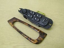 JAGUAR S TYPE O/S/F DRIVER SIDE FRONT WINDOW SWITCH SURROUND 2R83-14540