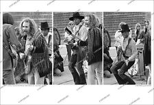 DAVID CROSBY NEIL YOUNG GREG REEVES 3-FRAME 1969 Orig. Photo Sequence/no-cd/lp