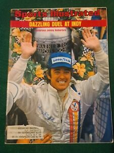 Vintage Sports Illustrated June 3, 1974 Indy's Johnny Rutherford Cover