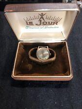 Vintage Le Jour 17 Jewel Automatic Incabloc 10kt