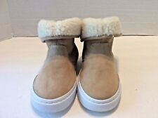 Girls GAP Gap Cozy Foldover Sneakers / Boots New Sand Brown Tan Size 11