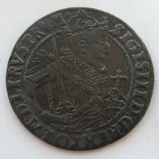 P-. 1659. 18 Gröscher Ort 1/4 Taler Sigismund Zygmunt III Waza 1623